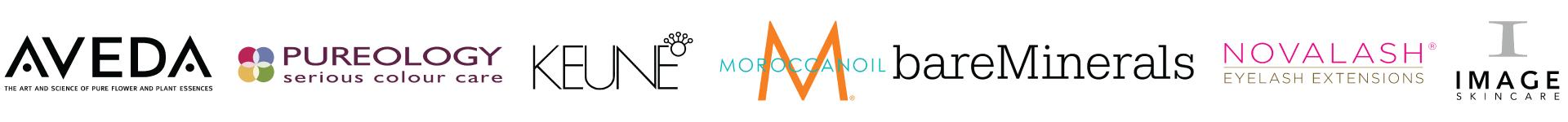 Keune Logo Bare Minerals Logo Moroccan Oil Logo